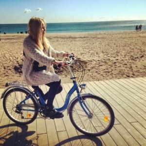 Ruta en bicicleta / Bornbike