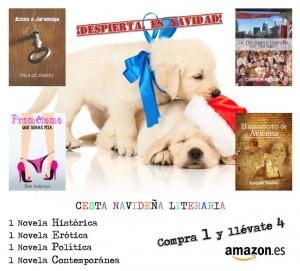 Cesta navideña literaria