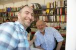 Con un genial escritor y mejor persona, Juan Eslava Galán.