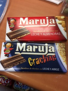 Chocolate español en Irlanda. Olé.
